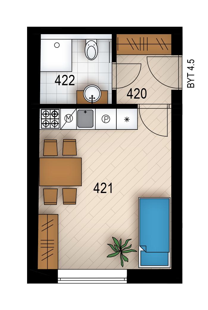 Резиденция «Голечкова» ID 4065