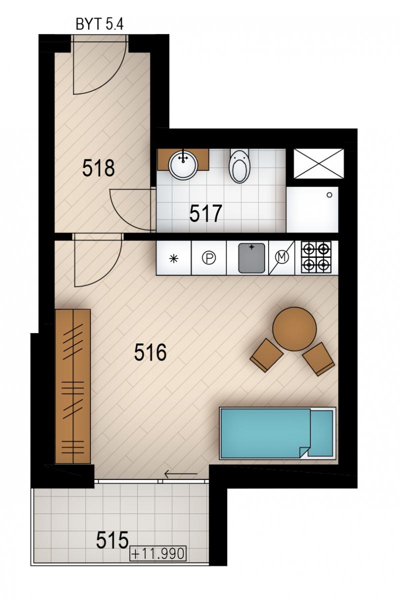 Резиденция «Голечкова» ID 4070