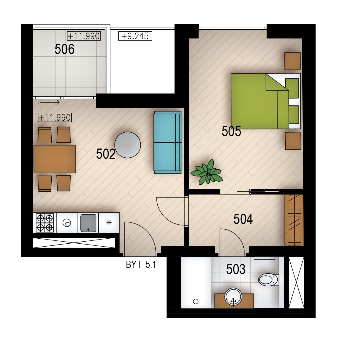 Резиденция «Голечкова» ID 4067