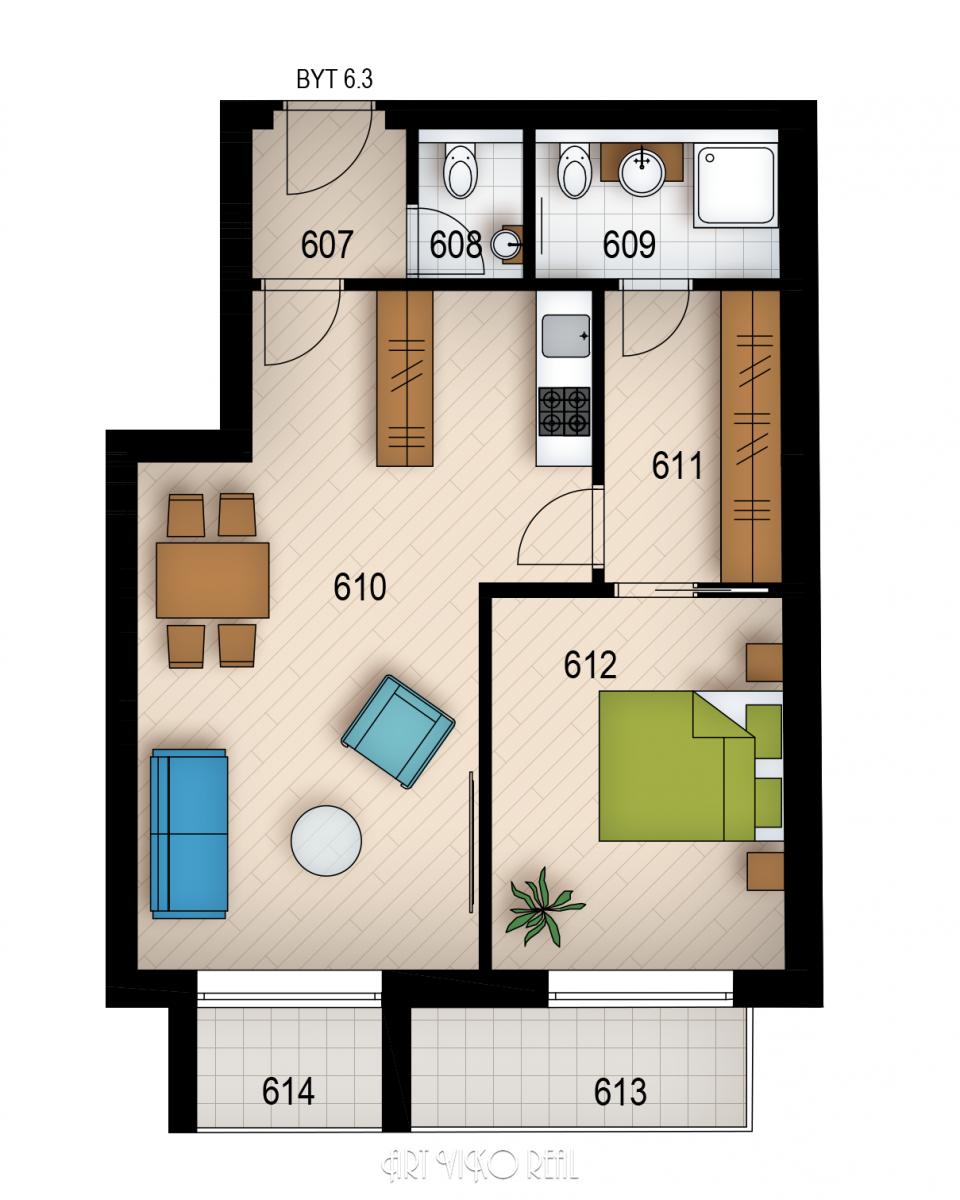 Резиденция «Голечкова» ID 3598