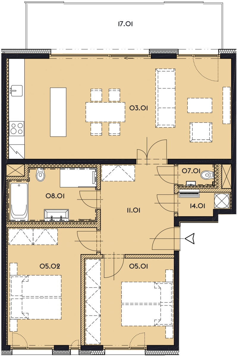 Резиденция «Марина Бульвар» ID 1160