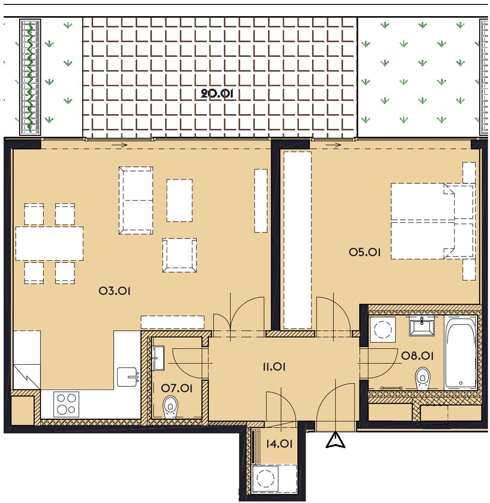 Резиденция «Марина Бульвар» ID 1130