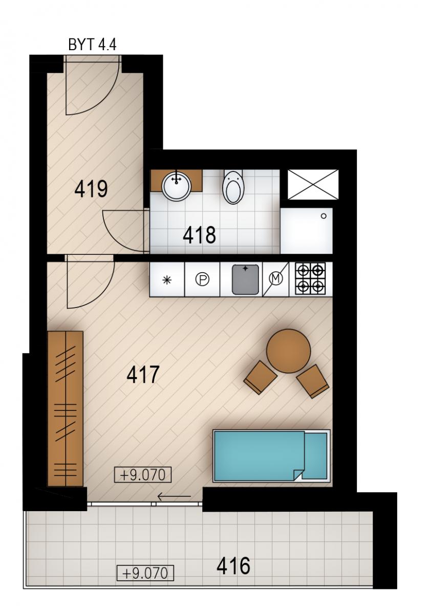 Резиденция «Голечкова» ID 4064