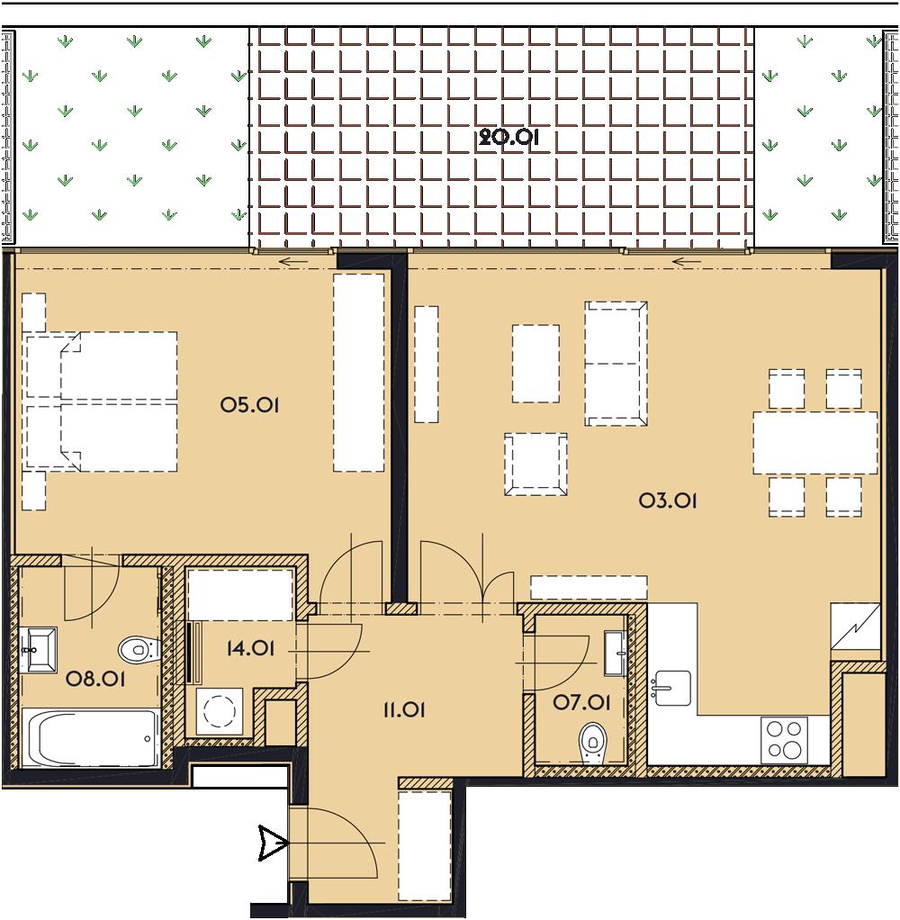 Резиденция «Марина Бульвар» ID 1165