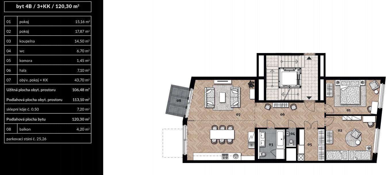 Апартаменты «Самова» ID 2773