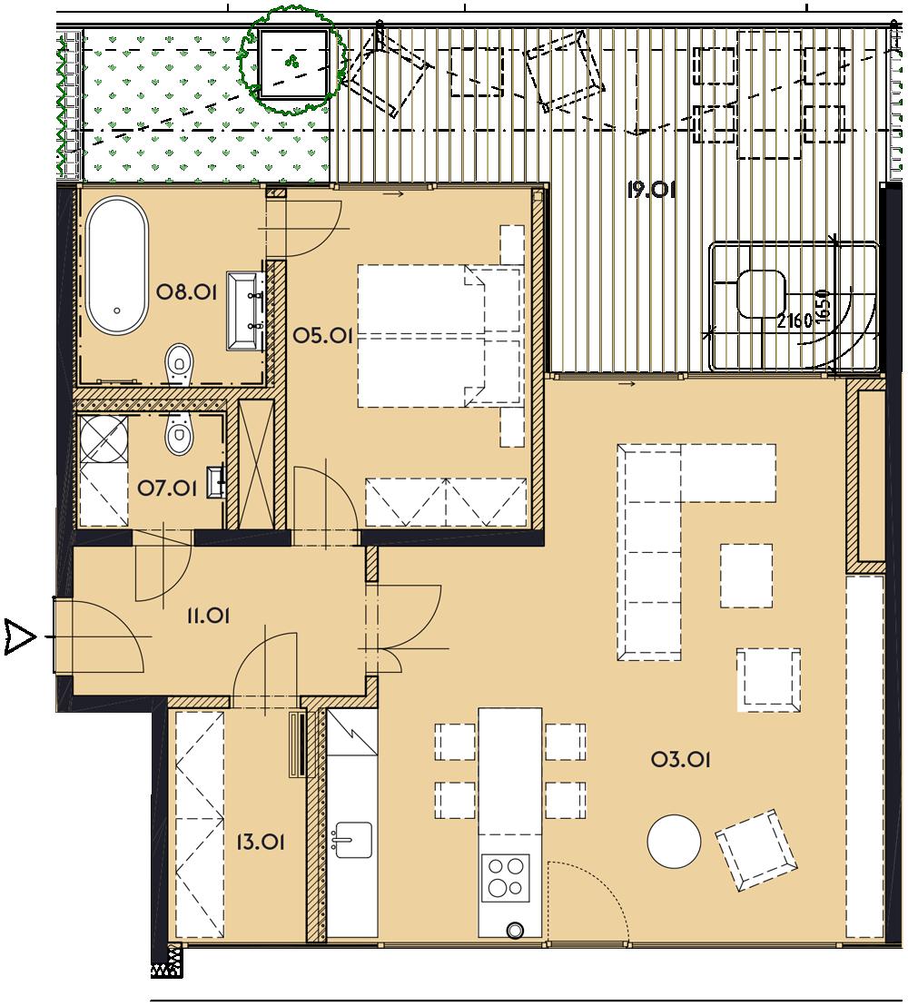 Резиденция «Марина Бульвар» ID 1161