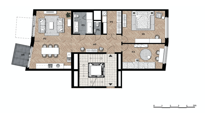 Апартаменты «Самова» ID 2775