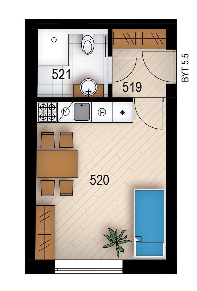 Резиденция «Голечкова» ID 4071