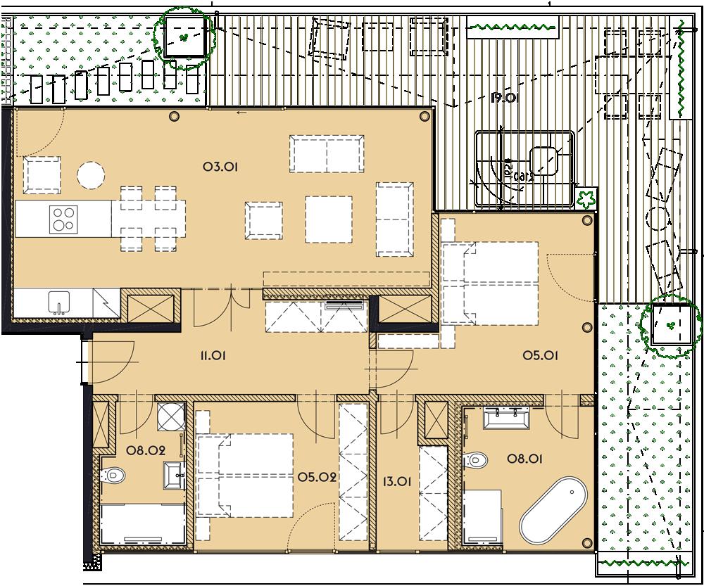 Резиденция «Марина Бульвар» ID 1170