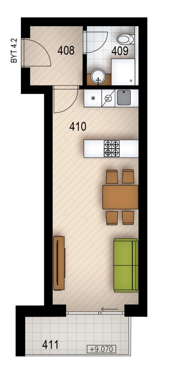 Резиденция «Голечкова» ID 4062
