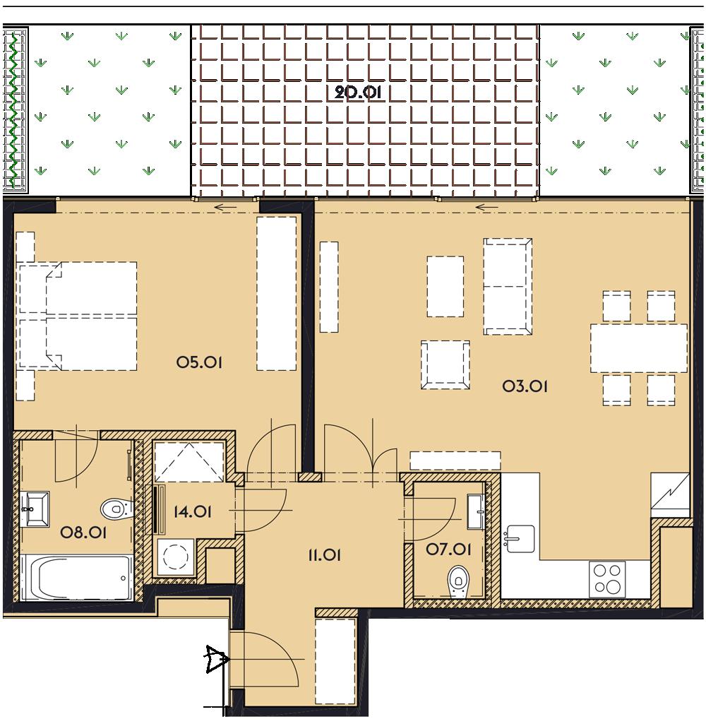 Резиденция «Марина Бульвар» ID 1135