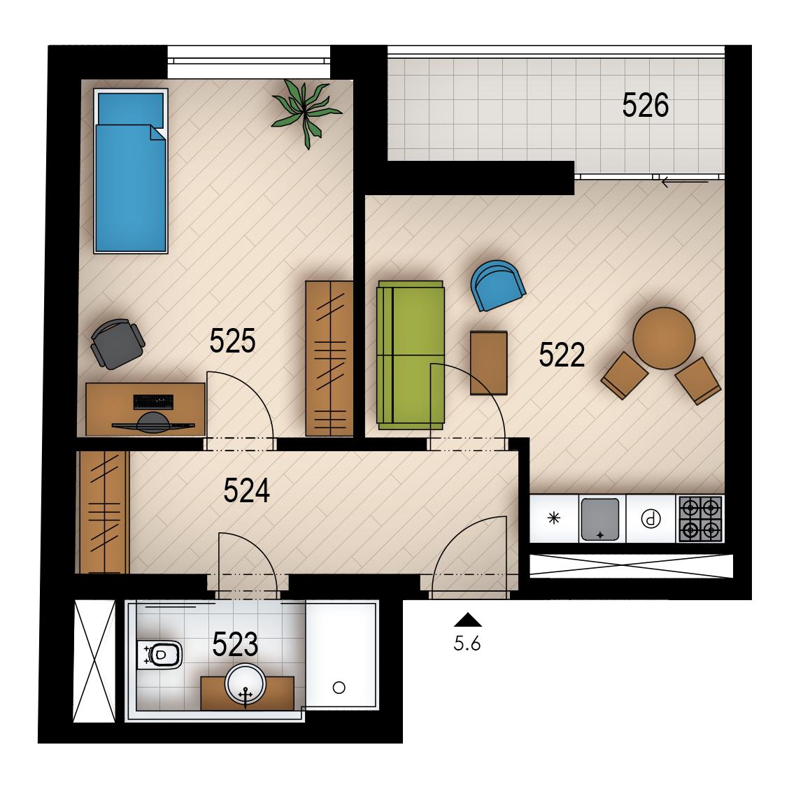 Резиденция «Голечкова» ID 4072