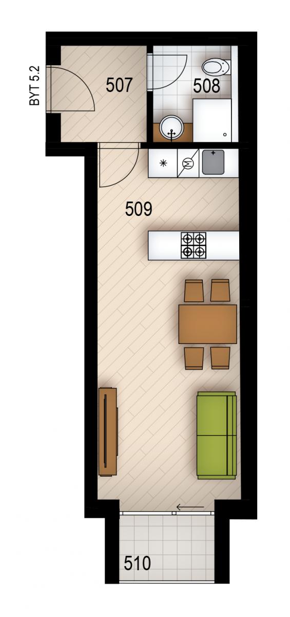 Резиденция «Голечкова» ID 4068