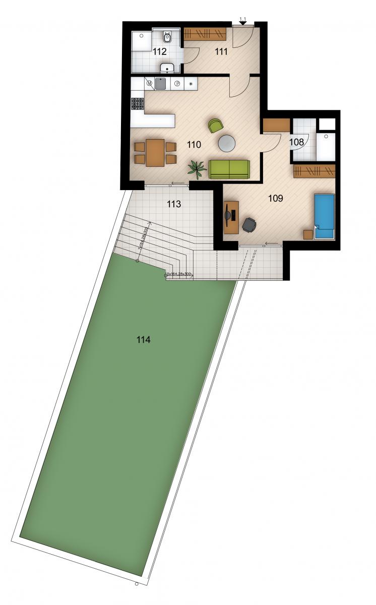 Резиденция «Голечкова» ID 4059