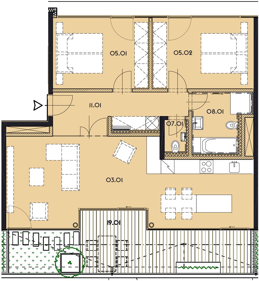 Резиденция «Марина Бульвар» ID 1180