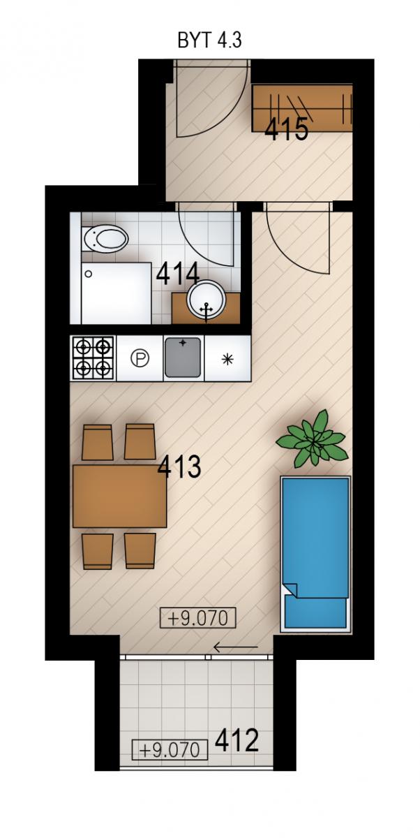 Резиденция «Голечкова» ID 4063