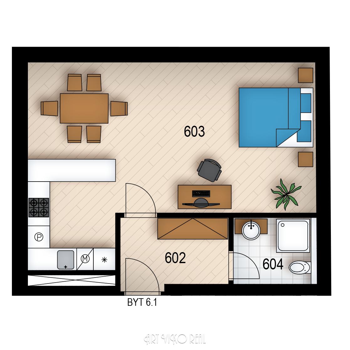 Резиденция «Голечкова» ID 3596
