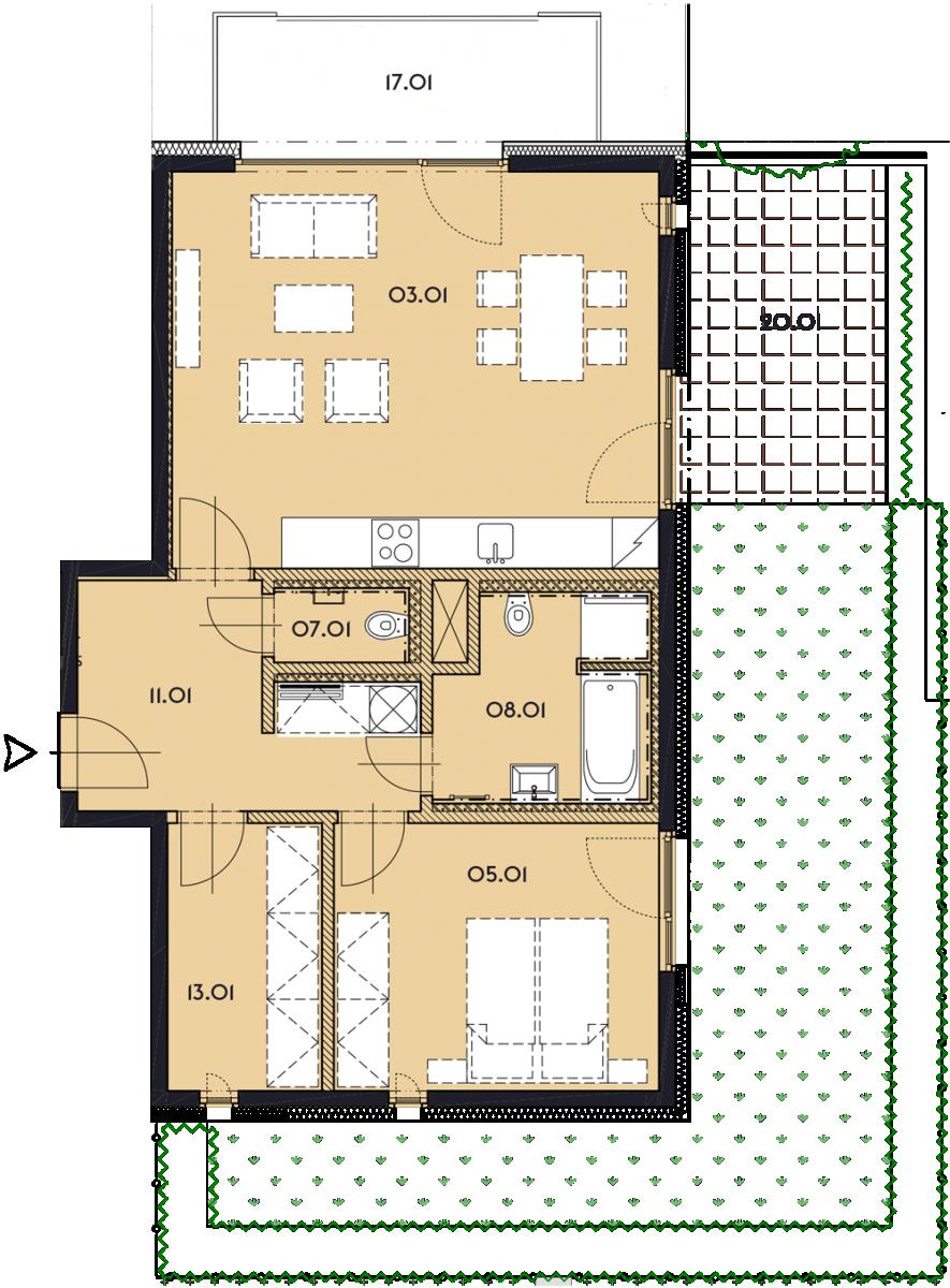 Резиденция «Марина Бульвар» ID 1136