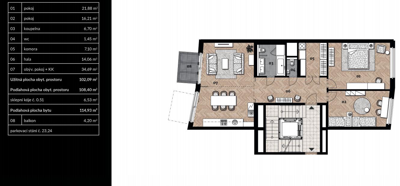 Апартаменты «Самова» ID 2772