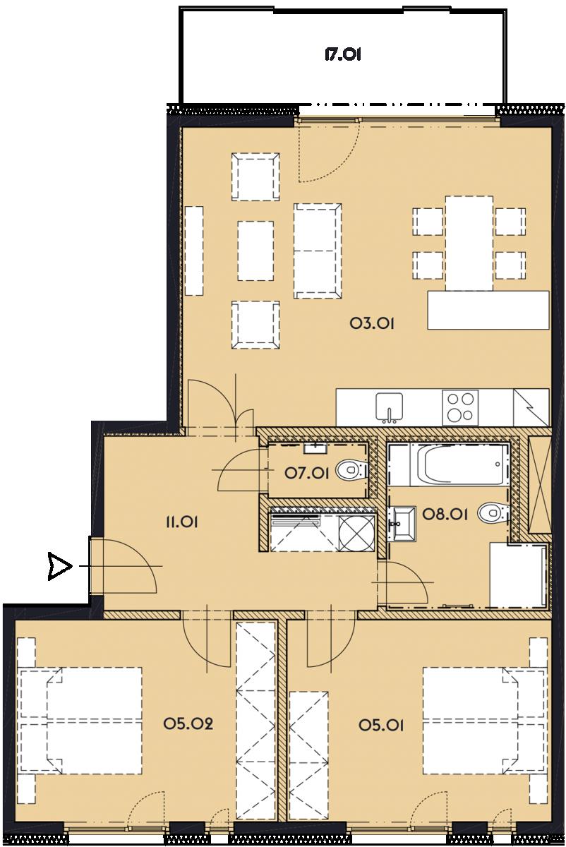 Резиденция «Марина Бульвар» ID 1155