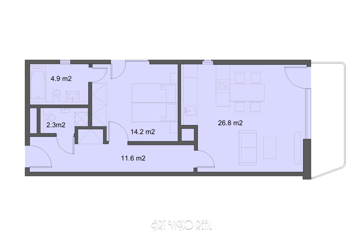 Резиденция «Марина Бульвар» ID 3149