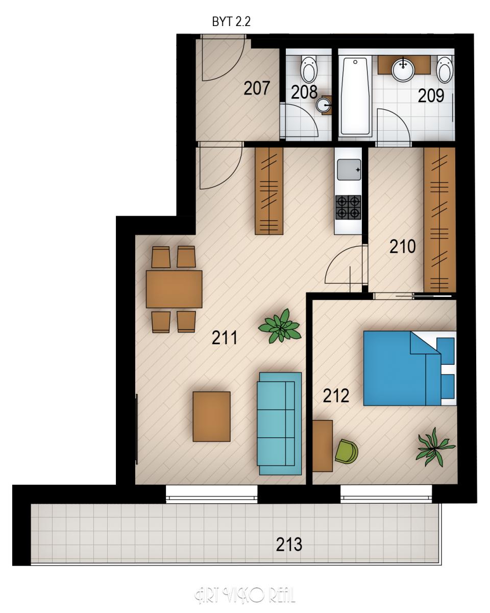 Резиденция «Голечкова» ID 3593