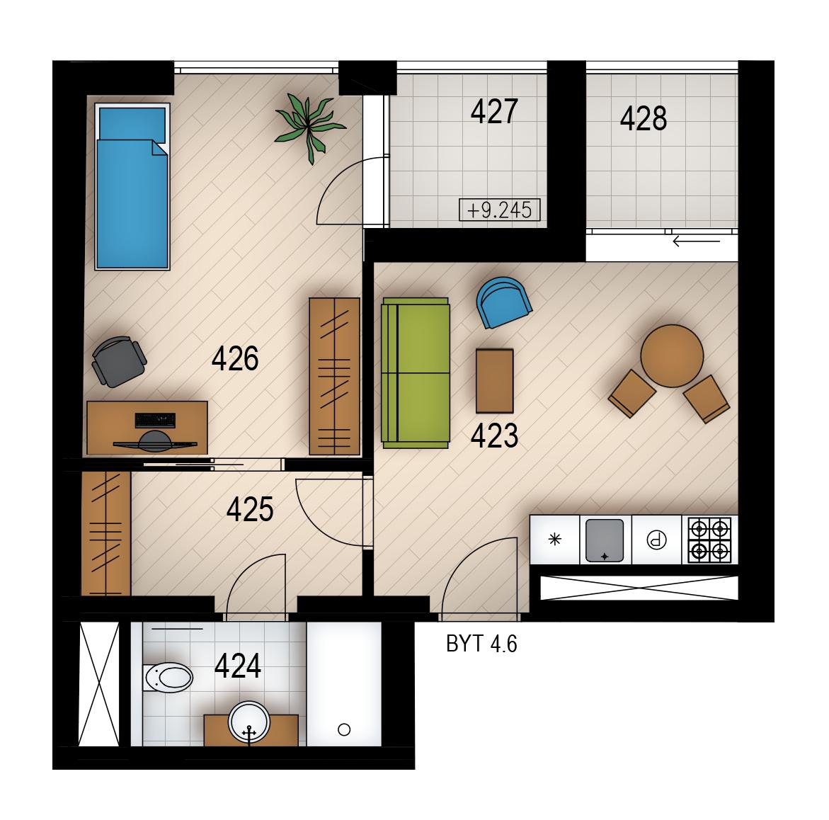 Резиденция «Голечкова» ID 4066