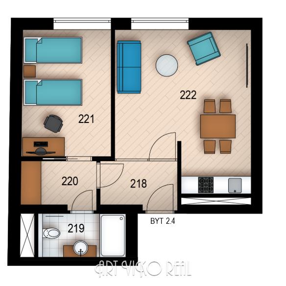 Резиденция «Голечкова» ID 4060