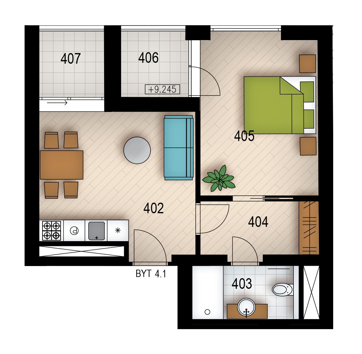Резиденция «Голечкова» ID 4061
