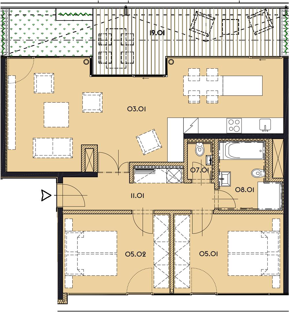Резиденция «Марина Бульвар» ID 1143