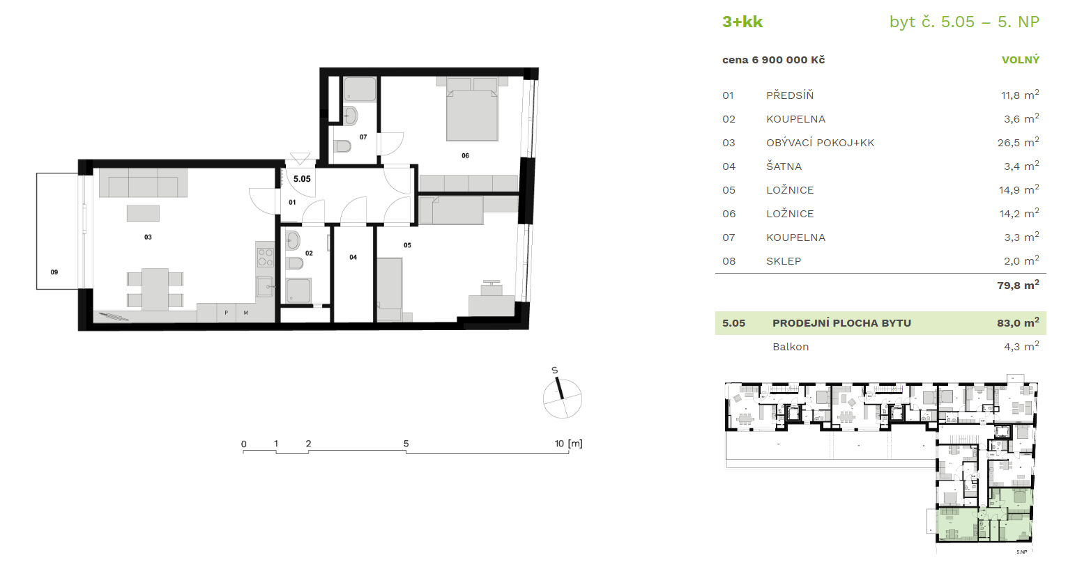 Жилой дом «Приматорска» ID 1073