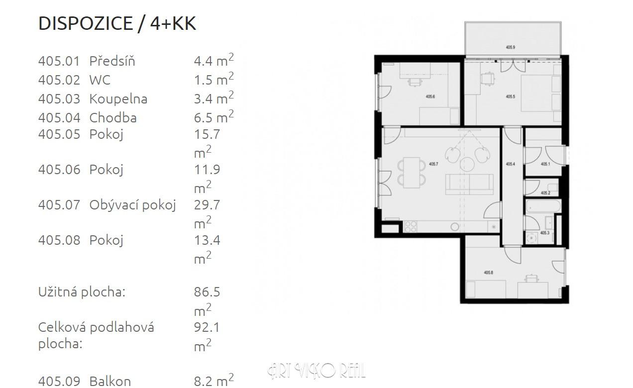 ЖК «Жижковские террасы» ID 3901