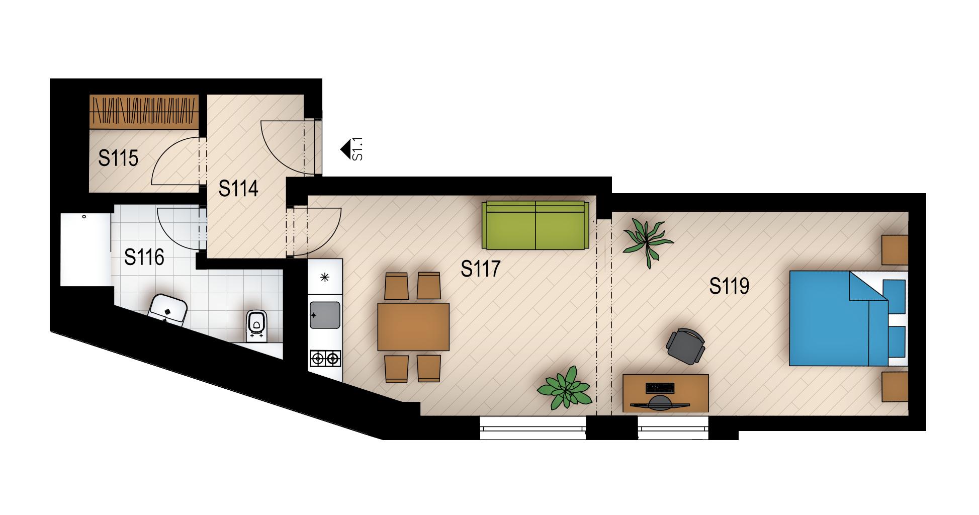 Резиденция «Голечкова» ID 3590