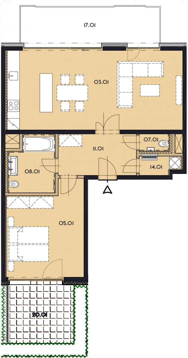 Резиденция «Марина Бульвар» ID 1137