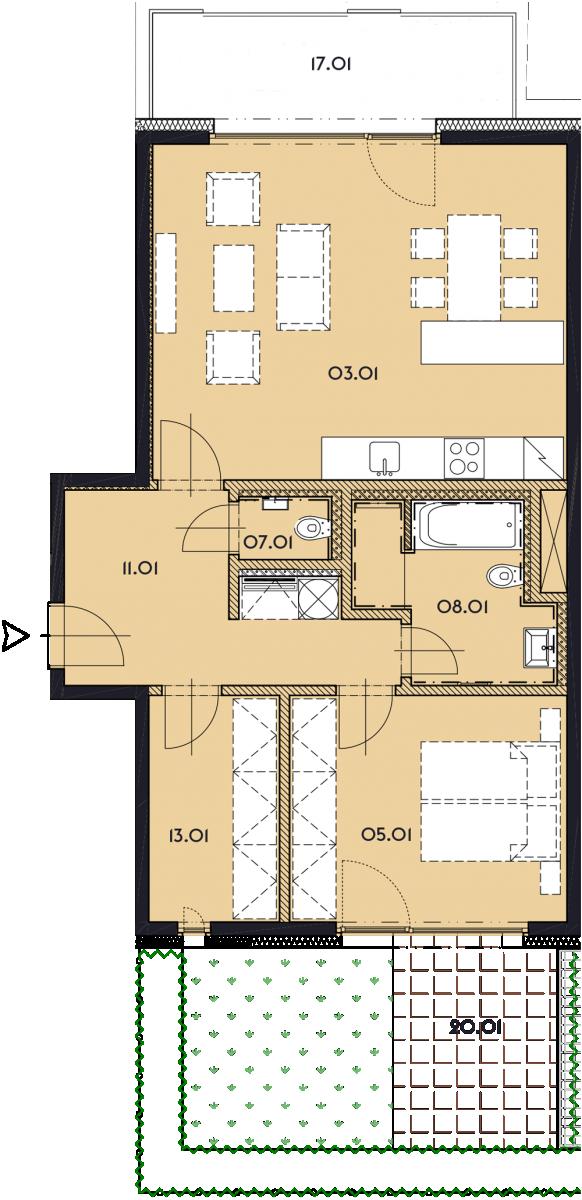 Резиденция «Марина Бульвар» ID 1139