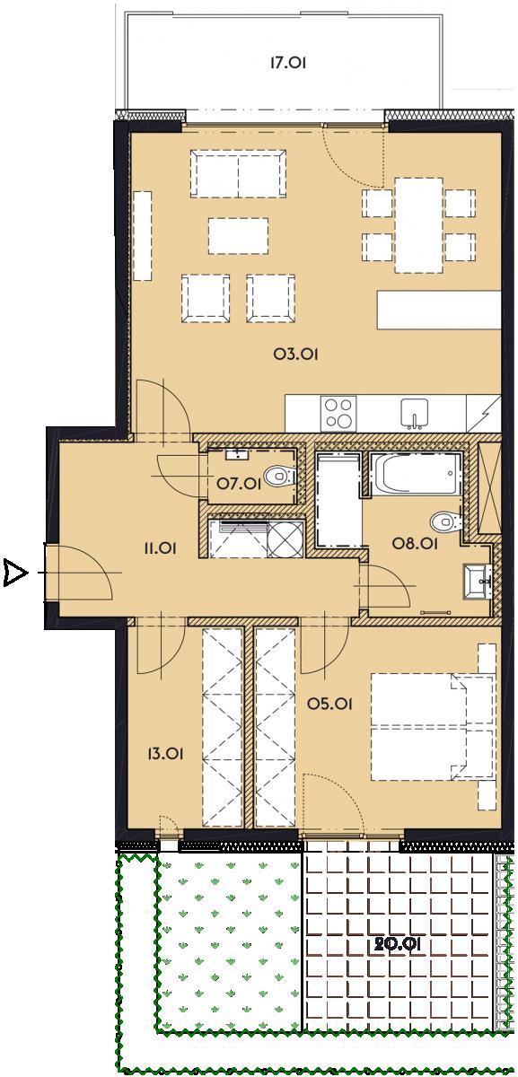 Резиденция «Марина Бульвар» ID 1132